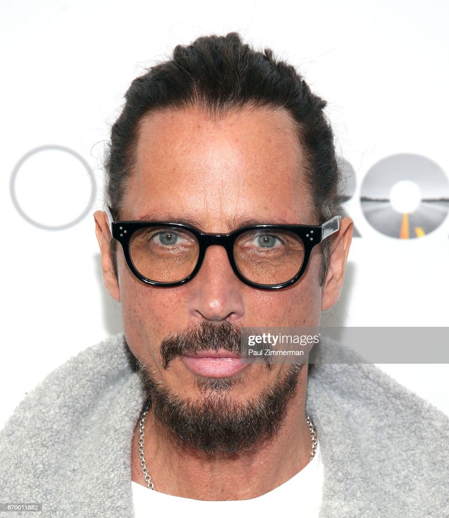 Chris Cornell attends 'The Promise' New York Screening at Paris Theatre on April 18, 2017 in New York City.