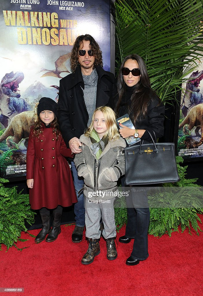 <a gi-track='captionPersonalityLinkClicked' href=/galleries/search?phrase=Chris+Cornell&family=editorial&specificpeople=221615 ng-click='$event.stopPropagation()'>Chris Cornell</a> attends the 'Walking With Dinosaurs' screening at Cinema 1, 2 & 3 on December 15, 2013 in New York City.
