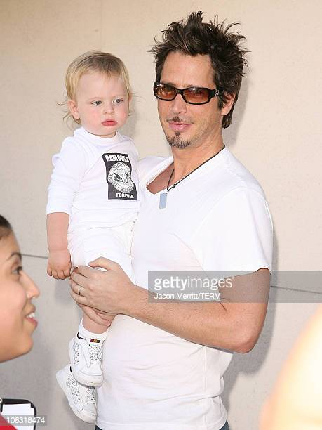 Chris Cornell during 5th Annual John Varvatos Stuart House Benefit Presented by Converse at John Varvatos Boutique in Hollywood California United...