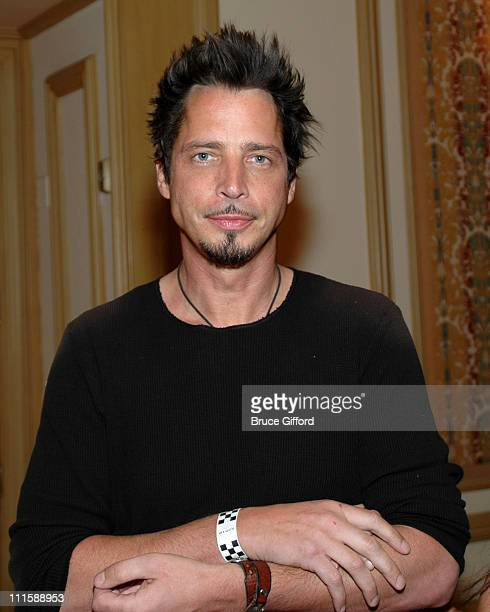 Chris Cornell during Vegas Grand Prix Hosts a StarStudded Charity Gala April 5 2007 at Bellagio Resort in Las Vegas Nevada United States