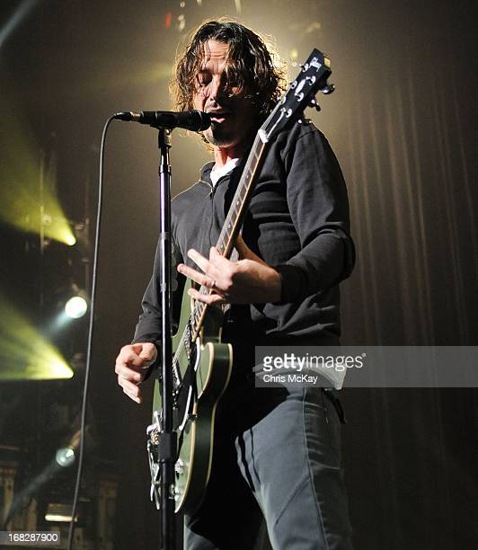 Chris Cornell of Soundgarden performs at The Tabernacle on May 7 2013 in Atlanta Georgia