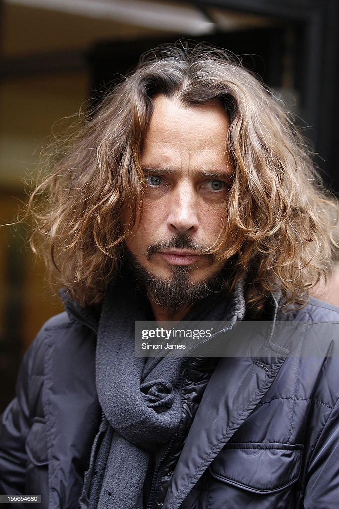 Chris Cornell of Soundgarden sighting at BBC radio two on November 6, 2012 in London, England.