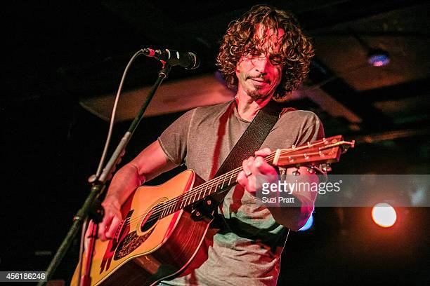 Chris Cornell performs for the '15 Now' Benefit Show at El Corazn on September 26 2014 in Seattle Washington