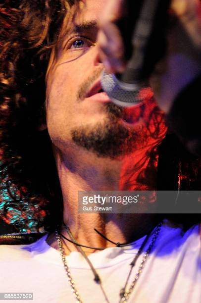 Chris Cornell performs on stage at The Scala London on 23 February 2009
