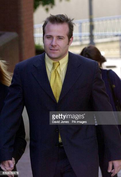 Chris Cotter former boyfriend of athlete Ashia Hansen arrives at Birmingham Crown Court Cotter of Kings Stanton Road Plymouth is accused of...
