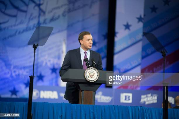 Chris Cox during the Conservative Political Action Conference at the Gaylord National Resort and Convention Center February 23 2017 in National...