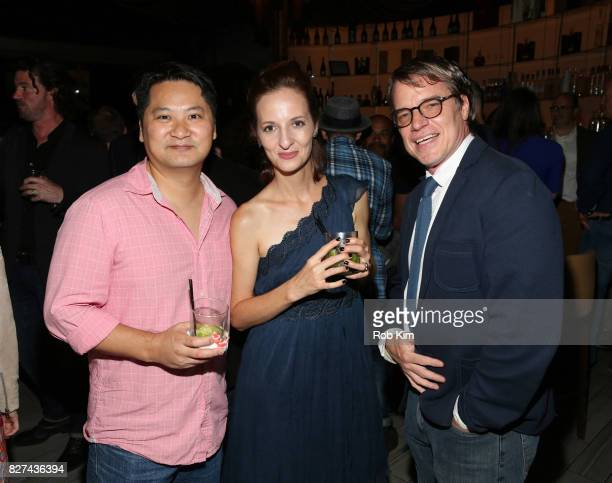 Chris CraginDay and guests attend the OffBroadway opening night party for 'SUMMER SHORTS 2017' at Fogo de Chao Churrascaria on August 7 2017 in New...