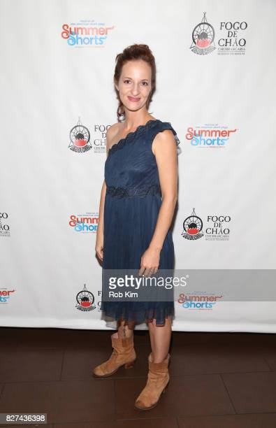 Chris CraginDay attends the OffBroadway opening night party for 'SUMMER SHORTS 2017' at Fogo de Chao Churrascaria on August 7 2017 in New York City