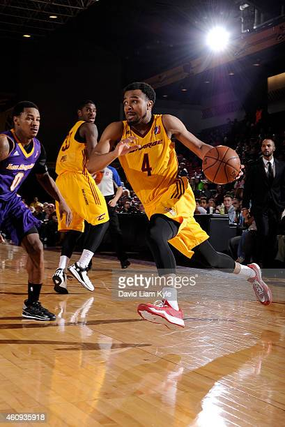 Chris Crawford of the Canton Charge drives to the basket against the Los Angeles DFenders at the Canton Memorial Civic Center on December 30 2014 in...