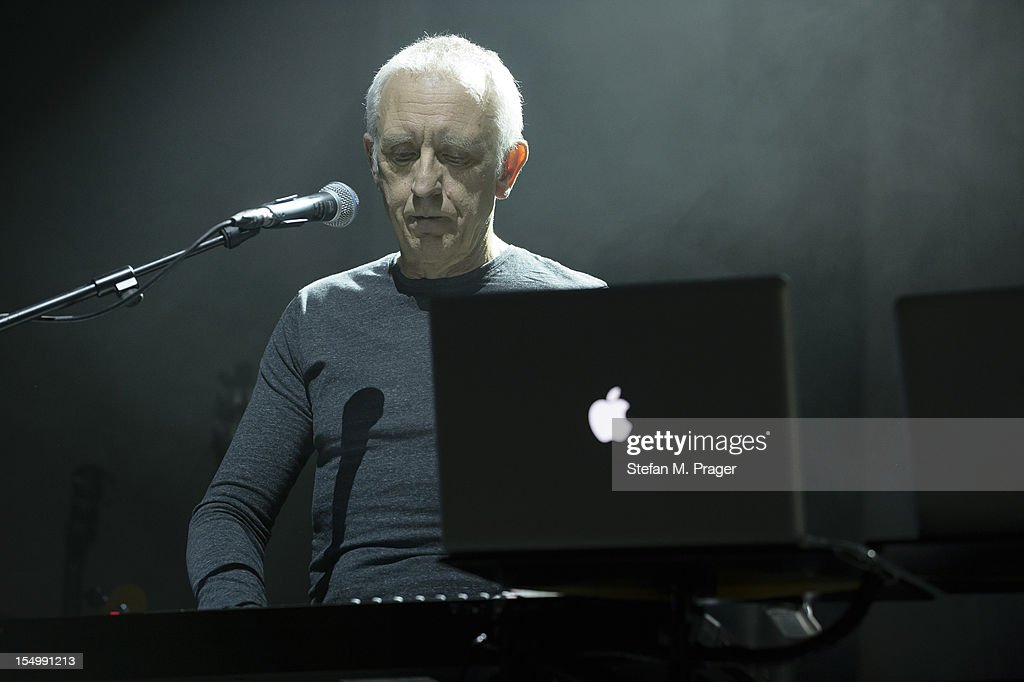 Chris Cross of Ultravox performs on stage at Kesselhaus on October 29, 2012 in Munich, Germany.