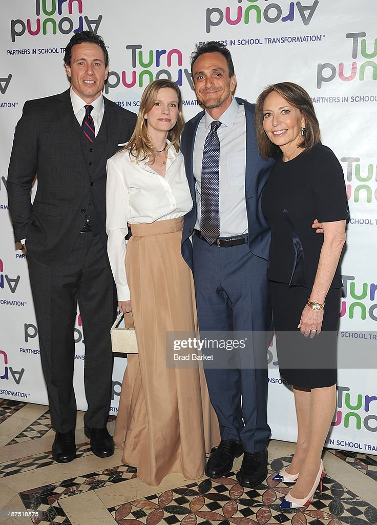 <a gi-track='captionPersonalityLinkClicked' href=/galleries/search?phrase=Chris+Cuomo&family=editorial&specificpeople=649814 ng-click='$event.stopPropagation()'>Chris Cuomo</a>, Katie Wright, <a gi-track='captionPersonalityLinkClicked' href=/galleries/search?phrase=Hank+Azaria&family=editorial&specificpeople=204150 ng-click='$event.stopPropagation()'>Hank Azaria</a>, and Pamela Cantor attend the Turnaround For Children's 5th Annual Impact Awards Dinner at Cipriani 42nd Street on April 30, 2014 in New York City.