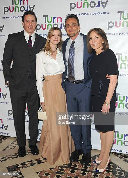 Chris Cuomo Katie Wright Hank Azaria and Pamela Cantor attend the Turnaround For Children's 5th Annual Impact Awards Dinner at Cipriani 42nd Street...