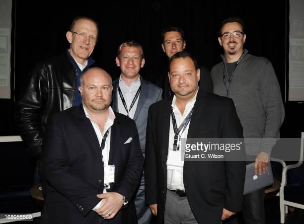 Chris Curling Gareth EllisUnwin Sergei Bespalov Daniel Wagner Joe Chianese Sergio Sa Leitao attend the 4th Annual International Film Finance Forum...