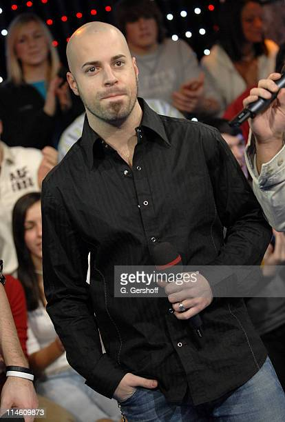 Chris Daughtry during Chris Daughtry Visits MTV's 'TRL' January 25 2007 at MTV Studios in New York City New York United States