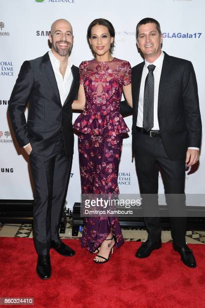 Chris Daughtry Marisol Thomas Marisol Thomas attend the Global Lyme Alliance third annual New York City Gala on October 11 2017 in New York City