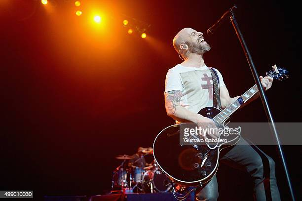 Chris Daughtry of Daughtry performs at Hard Rock Live in the Seminole Hard Rock Hotel Casino on November 27 2015 in Hollywood Florida