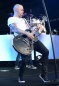 Chris Daughtry performs onstage opening for the Goo Goo Dolls at Nikon at Jones Beach Theater on June 14 2014 in Wantagh New York