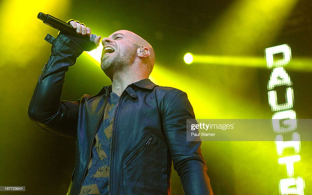 Chris Daughtry performs with Daughtry at Fox theater on December 5, 2012 in Detroit, Michigan.