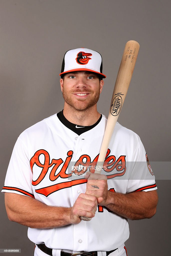 <a gi-track='captionPersonalityLinkClicked' href=/galleries/search?phrase=Chris+Davis+-+Baseball&family=editorial&specificpeople=7129264 ng-click='$event.stopPropagation()'>Chris Davis</a> #19 of the Baltimore Orioles poses on photo day at Ed Smith Stadium on March 1, 2015 in Sarasota, Florida.