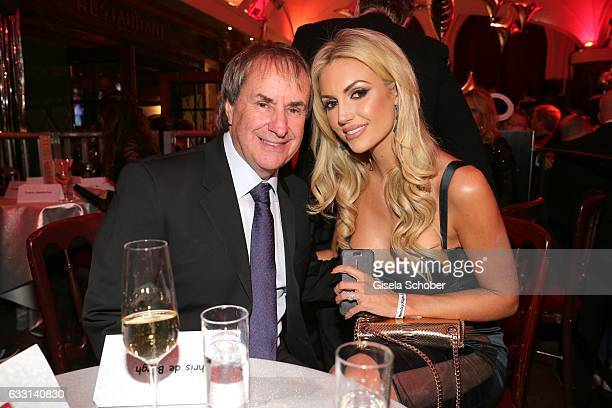 Chris de Burgh and his daughter Rosanna Davison during the Lambertz Monday Night 2017 at Alter Wartesaal on January 30 2017 in Cologne Germany