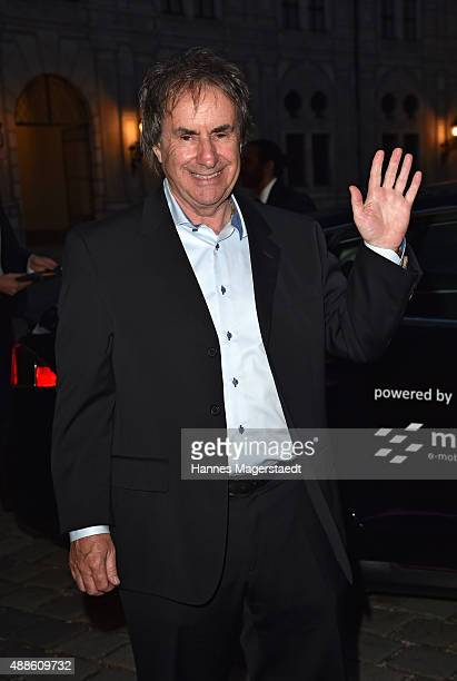Chris de Burgh during the 'Jose Carreras Foundation Celebrates Its 20th Anniversary' at Kaisersaal on September 16 2015 in Munich Germany