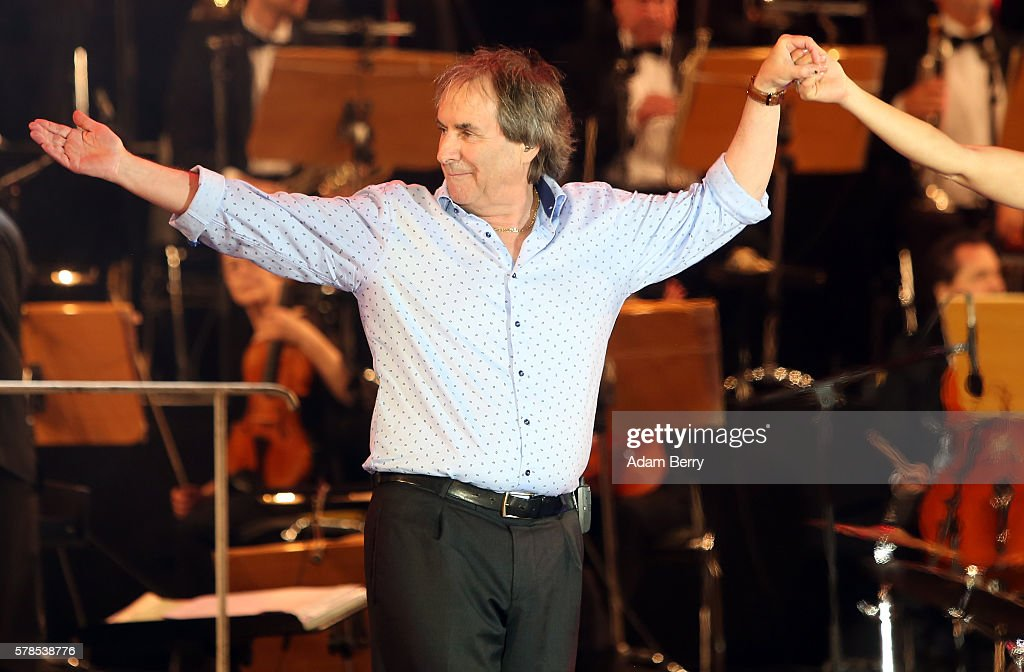 Chris de Burgh takes a bow at the opening night of the Classic Open Air festival at Gendarmenmarkt on July 21 2016 in Berlin Germany