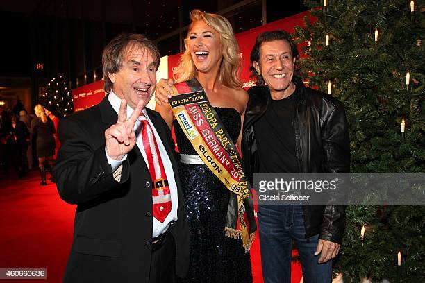 Chris de Burgh Vivian Conca Albert Hammond during the 20th Annual Jose Carreras Gala on December 18 2014 in Rust Germany