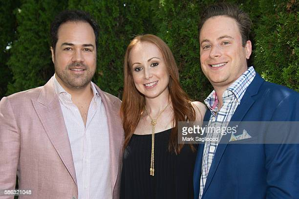 Chris Del Gatto Mara Opperman and Josh Opperman attend the DELGATTO Luncheon to Celebrate Partnership with the Dubin Breast Center of the Tisch...
