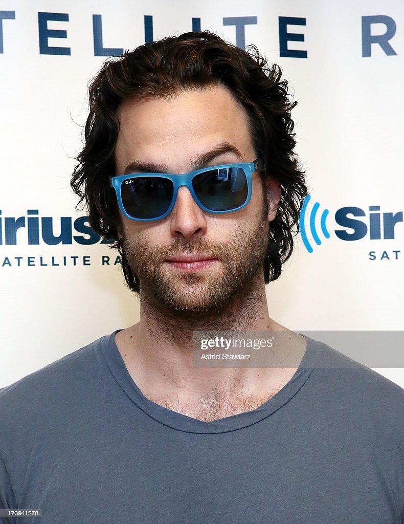 Chris D'Elia visits the SiriusXM Studios on June 20, 2013 in New York City.