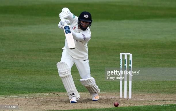 Chris Dent of Gloucestershire bats during Day One of the Specsavers County Championship Division Two match between Gloucestershire and Durham at The...