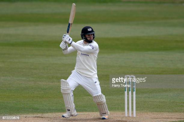 Chris Dent of Gloucestershire bats during the Specsavers County Championship Division Two match between Gloucestershire and Durham at The Brightside...