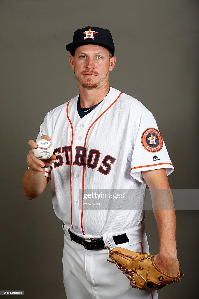 Chris Devenski #66 of the Houston Astros poses on photo day at Osceola County Stadium on February 24, 2016 in Kissimmee, Florida.