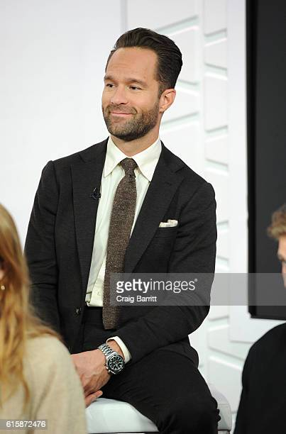 Chris Diamantopoulos appears on Amazon's Style Code Live on October 20 2016 in New York City