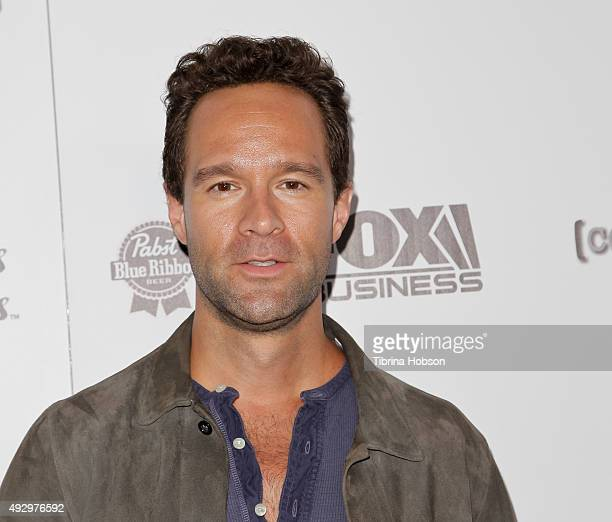 Chris Diamantopoulos attends the premiere of 'All Things Must Pass' at Harmony Gold Theatre on October 15 2015 in Los Angeles California