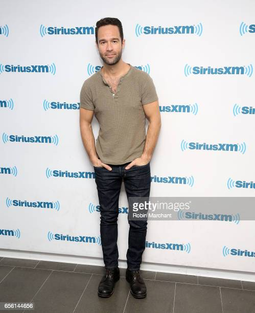Chris Diamantopoulos visits at SiriusXM Studios on March 21 2017 in New York City