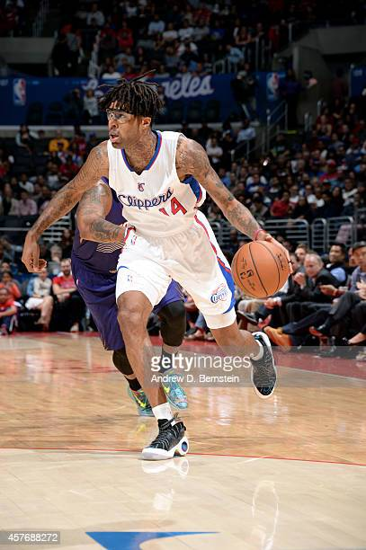 Chris DouglasRoberts of the Los Angeles Clippers drives against the Phoenix Suns on October 22 2014 at the Staples Center in Los Angeles California...