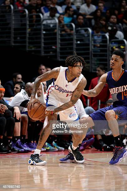 Chris DouglasRoberts of the Los Angeles Clippers handles the ball against the Phoenix Suns on October 22 2014 at the Staples Center in Los Angeles...