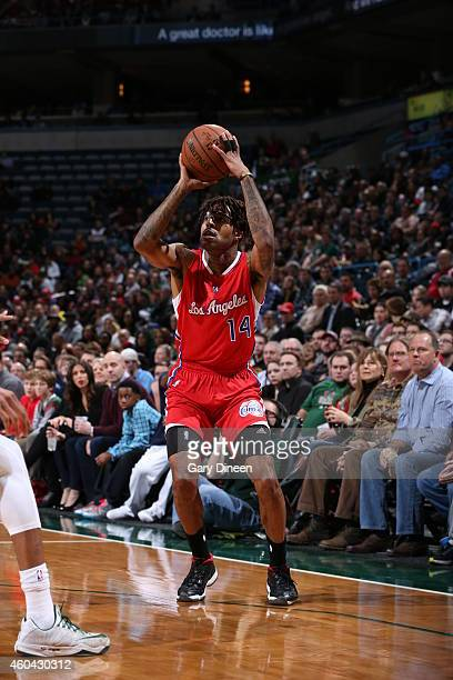 Chris DouglasRoberts of the Los Angeles Clippers handles the ball against the Milwaukee Bucks on December 13 2014 at the BMO Harris Bradley Center in...