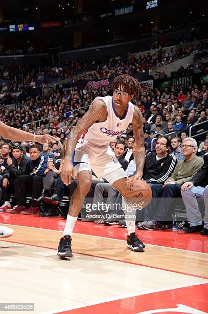Chris DouglasRoberts of the Los Angeles Clippers handles the ball against the Detroit Pistons during the game on December 15 2014 at STAPLES Center...