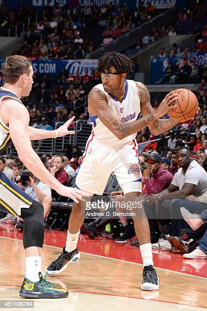 Chris DouglasRoberts of the Los Angeles Clippers looks to pass against the Utah Jazz during the game on October 17 2014 at the Staples Center in Los...