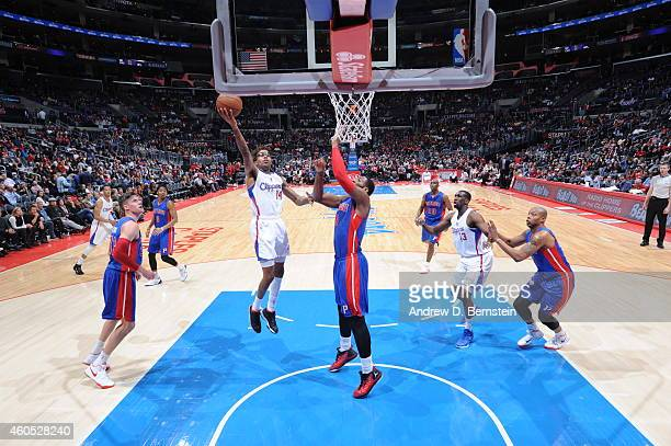 Chris DouglasRoberts of the Los Angeles Clippers shoots the ball against the Detroit Pistons during the game on December 15 2014 at STAPLES Center in...