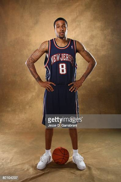 Chris DouglasRoberts of the New Jersey Nets poses for a portrait during the 2008 NBA Rookie Photo Shoot on July 29 2008 at the MSG Training Facility...