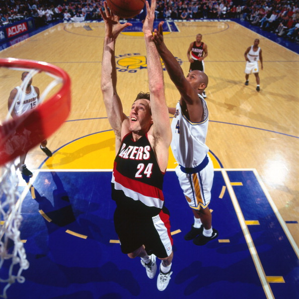 Portland Trail Blazers Vs Warriors: Chris Dudley Stock Photos And Pictures