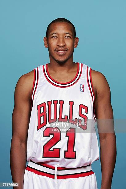 Chris Duhon of the Chicago Bulls poses for a portrait during NBA Media Day at the Sheri L Berto Center on October 1 2007 in Chicago Illinois NOTE TO...