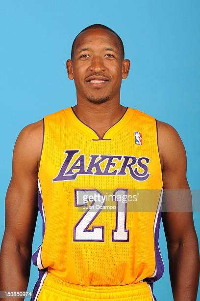 Chris Duhon of the Los Angeles Lakers during Media Day at Toyota Sports Center on October 1 2012 in El Segundo California NOTE TO USER User expressly...