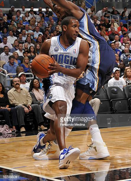 Chris Duhon of the Orlando Magic handles the ball during a game against the Memphis Grizzlies on November 15 2010 at the Amway Center in Orlando...