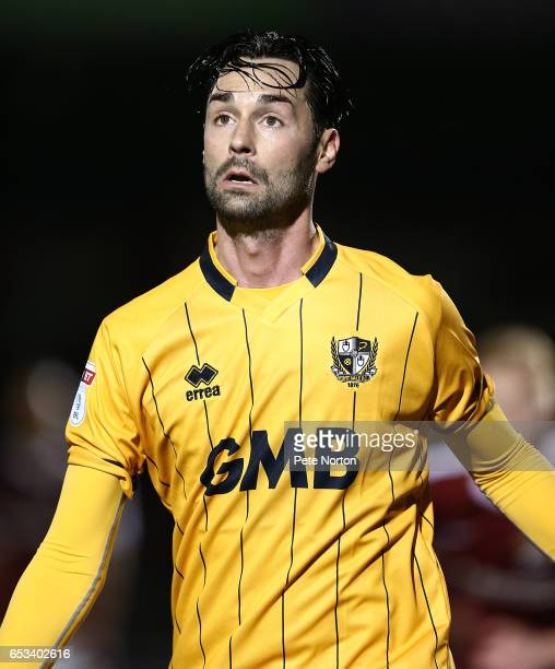 Chris Eagles of Port Vale in action during the Sky Bet League One match between Northampton Town and Port Vale at Sixfields on March 14 2017 in...