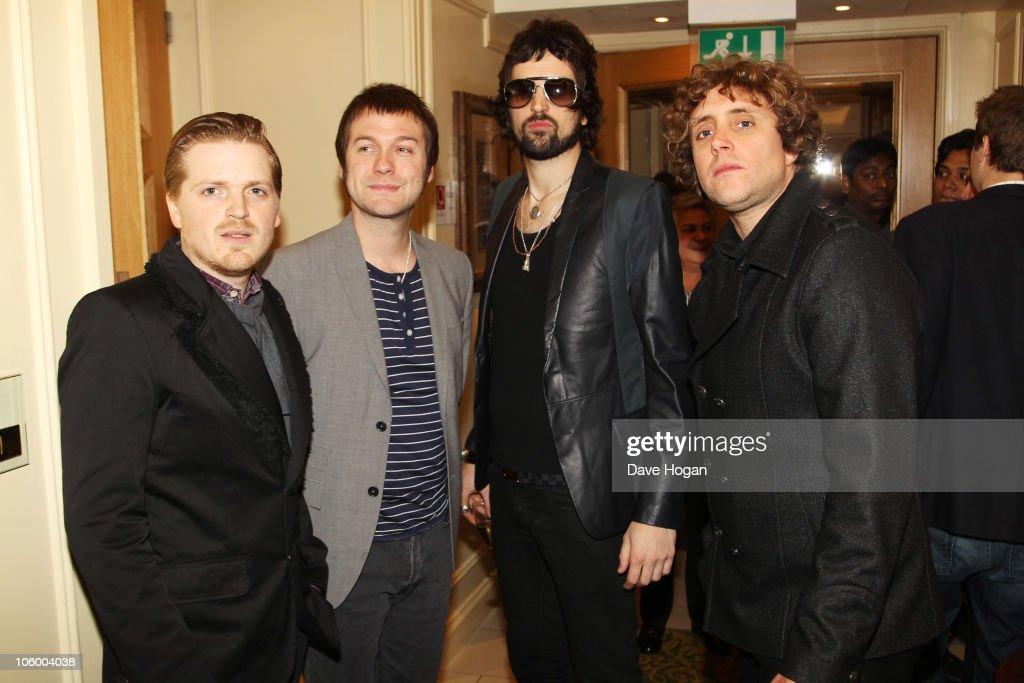 The Q Awards 2010 - Press Room