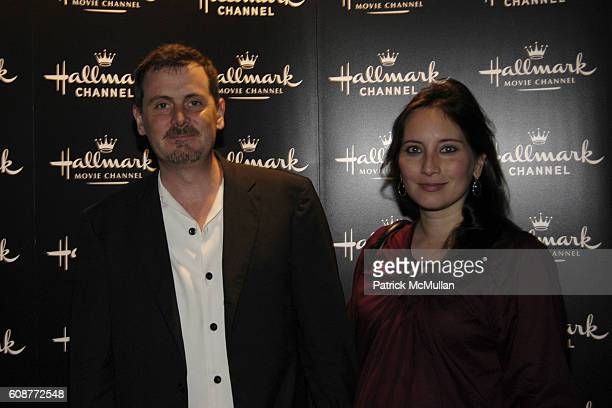 Chris Eigeman and Linda Eigeman attend Reception THE SHELL SEEKERS at Hamptons International Film Festival on October 18 2007 in East Hampton NY