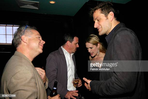 Chris Eigeman Stephanie March and Peter Hermann attend The Treatment Premier Party at Mantra 986 on May 4 2007 in New York City